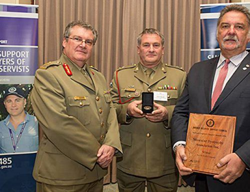 Winner Defence Reserve Support Council National Employer of the Year Award