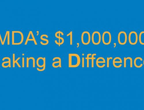 MDA's $1,000,000 Making a Difference